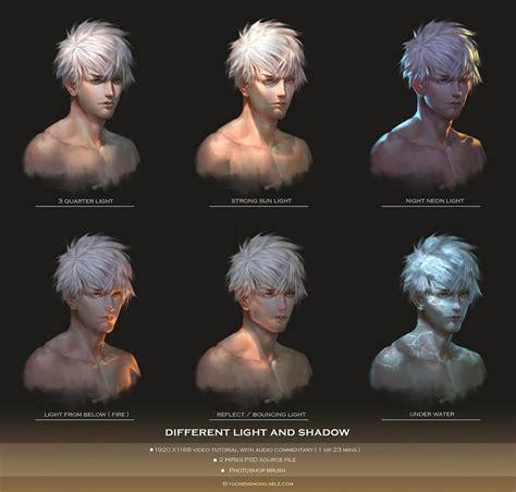 tutorial video lighting light and shadow video tutorial by yuchenghong on