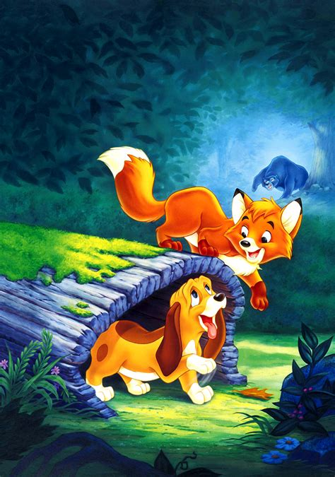 the fox and the the fox and the hound movie fanart fanart tv
