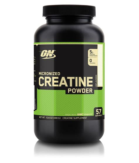 creatine in optimum nutrition on micronized creatine available at