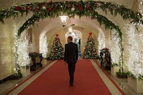 white house creates winter wonderland shareamerica
