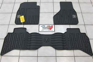 All Weather Floor Mats Ram 1500 2009 2012 Dodge Ram 1500 Cab All Weather Rubber Slush