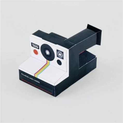 Fujifilm Instax Paper Refill Polaroid Wide Polos classic do it yourself paper model kit by impossible vintage photography