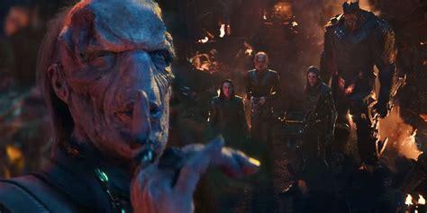 marvel infinity war trailer infinity war trailer reveals thanos black order