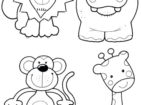 zoo animals coloring pages for kindergarten unique zoo animal coloring pages for preschool artsybarksy