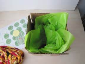 How To Fold Tissue Paper In A Box - how i ship my orders