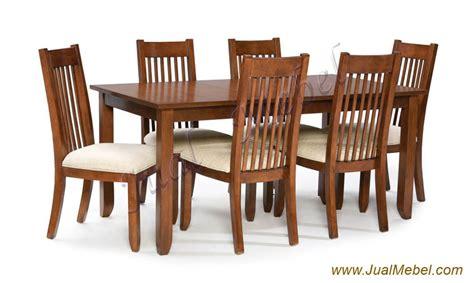 Meja Makan Minimalis Modern bandung meja kursi makan set minimalis jati harga murah