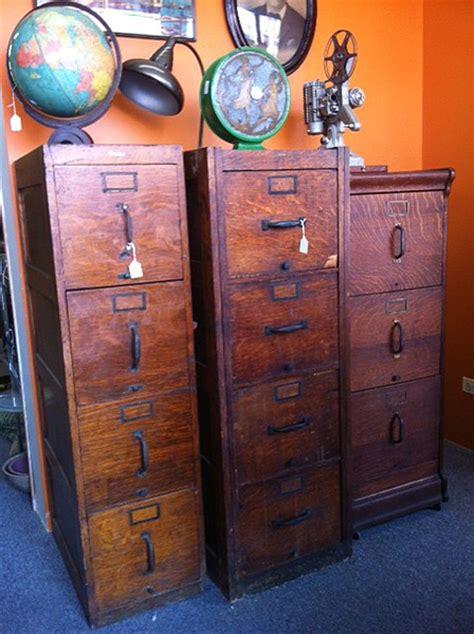Vintage Style Filing Cabinet by Vintage 4 Drawer Wooden Filing Cabinet Filing
