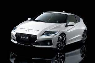 Honda Cr Z Report 2016 Honda Cr Z Sports Hybrid Getting Mild Refresh