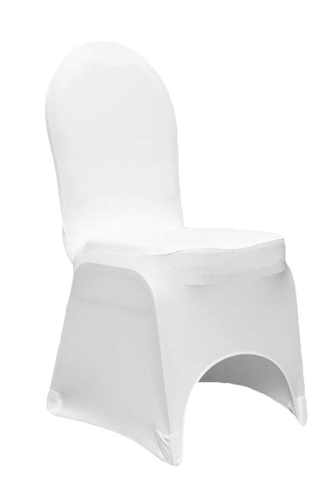 white chair covers chair cover white stretch banquet linens and events