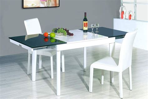Modern Extendable Dining Table Ideas Tedxumkc Decoration Stylish Kitchen Tables