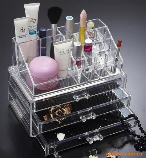makeup organizer ikea organizer box for jewelry storage box in acrylic makeup
