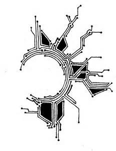 circuit tattoo template 3 12 tattoo tatoo and tatting