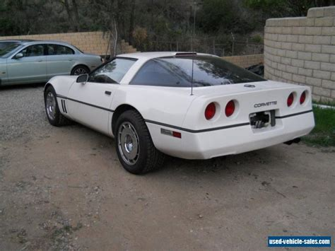 1987 chevrolet corvette for sale in the united states