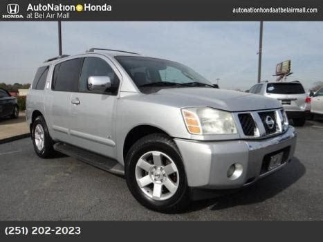 nissan armada for sale in alabama nissan armada cars for sale in mobile alabama