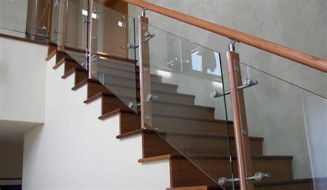 glass stair banister railing kaca tangga railing kaca railling balkon