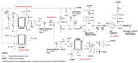 Diy Channel cell phone jammer circuit