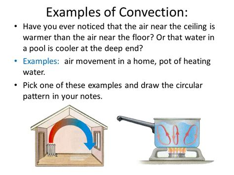 exle of convection heat transfer conduction convection and radiation ppt