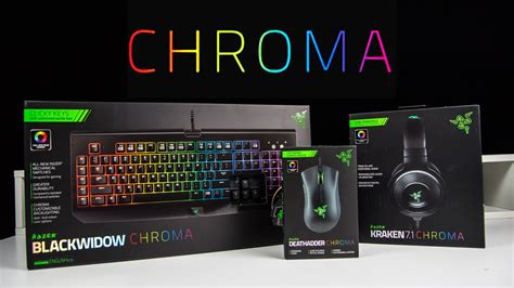 How To Make A Gaming Setup razer chroma series review unboxholics youtube