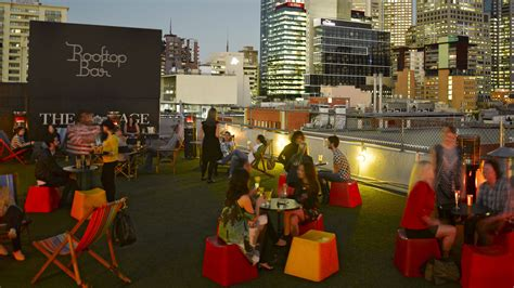 Roof Top Bar Melbourne by Festive In Melbourne And Beyond Pieces Of