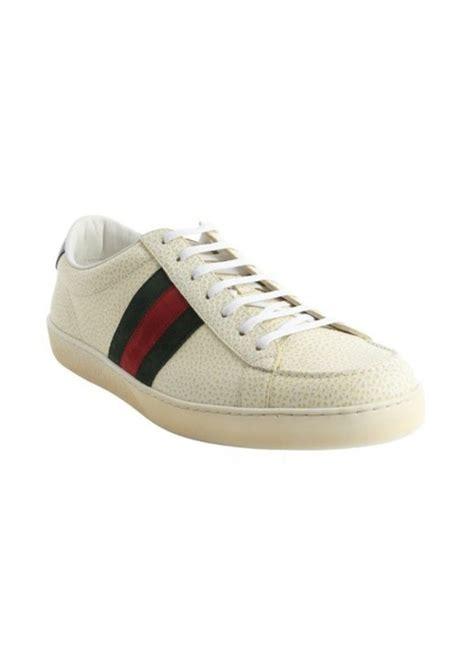 gucci white sneakers gucci gucci white leather web stripe sneakers shoes
