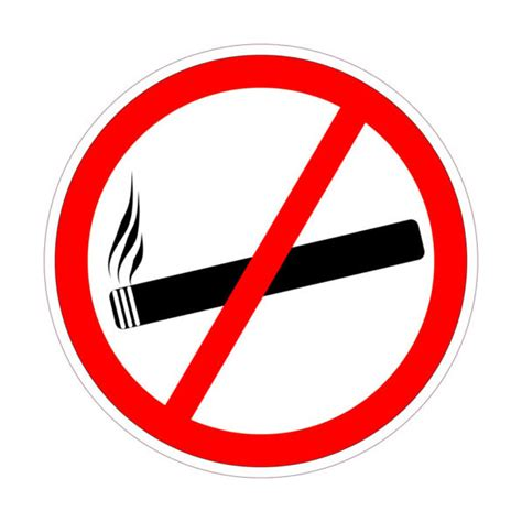 Rauchverbot Auto aufkleber rauchverbot