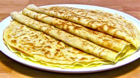 pfann kuchen pfannkuchen teig rezept eierkuchen crepes pfannkuchen
