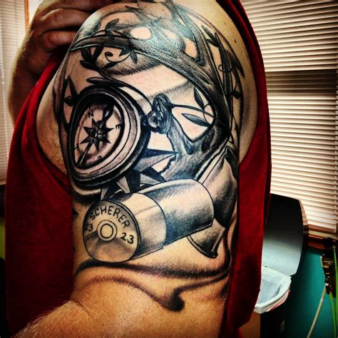 outdoorsman tattoos tattoo collections