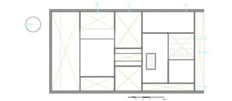 piano lesson floor plan materka house t3arc archdaily