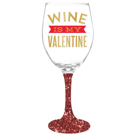 valentin wine wine is my wine glass time your gift