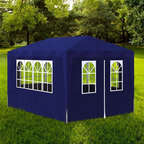 gazebo feste vidaxl gazebo da esterno tenda per feste 3 x 4 m pannelli