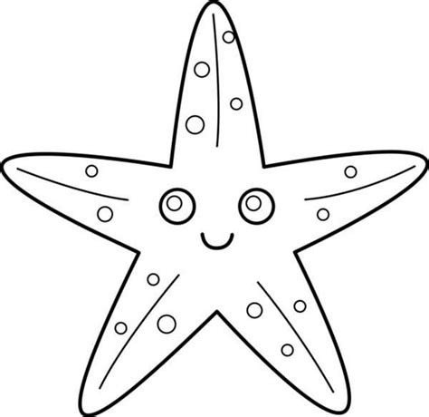 cute starfish coloring pages cute starfish coloring pages only coloring pages