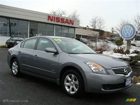 nissan grey 2008 precision gray metallic nissan altima hybrid 3570849