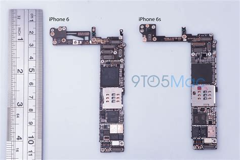 iphone board layout analysis of iphone 6s logic board suggests improved nfc