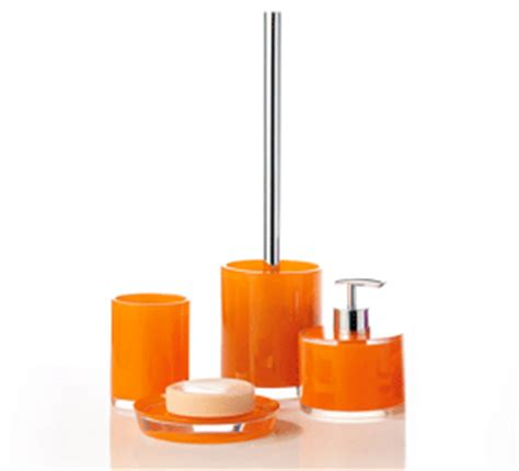 Bright Pink Bathroom Accessories Bathroom Decorating Ideas Cheerful Orange Color And
