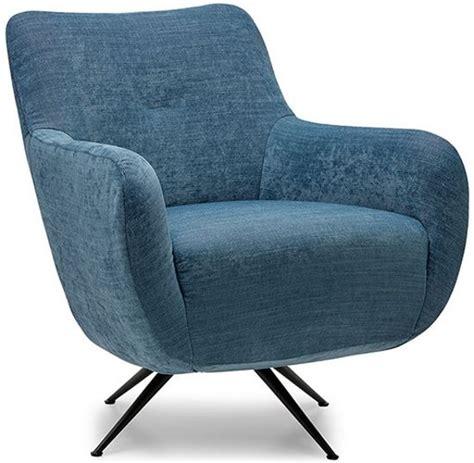 moderne fauteuil bol moderne fauteuil kala stof blauw met mat zwarte