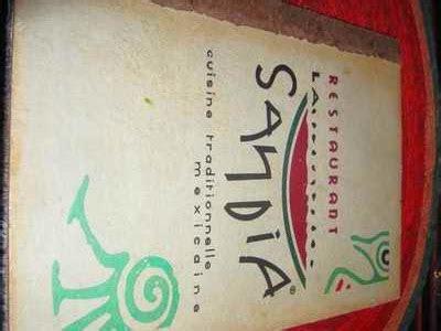 c est quoi la cuisine mol馗ulaire restaurant la sandia vrai restaurant mexicain 224 toulouse
