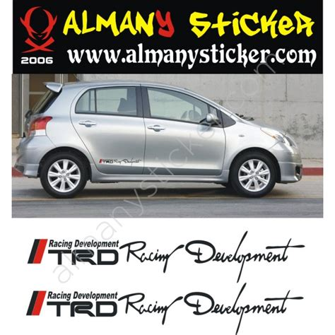 toyota yaris sticker
