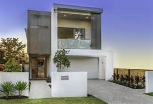 Small House Designs Brisbane Kalka Home Graceville Display Home Wentworth Facade
