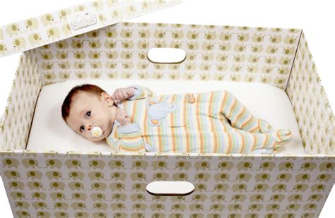 baby boxes provided to parents to avoid sudden infant