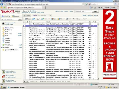Yahoo Email Search History Avantfind