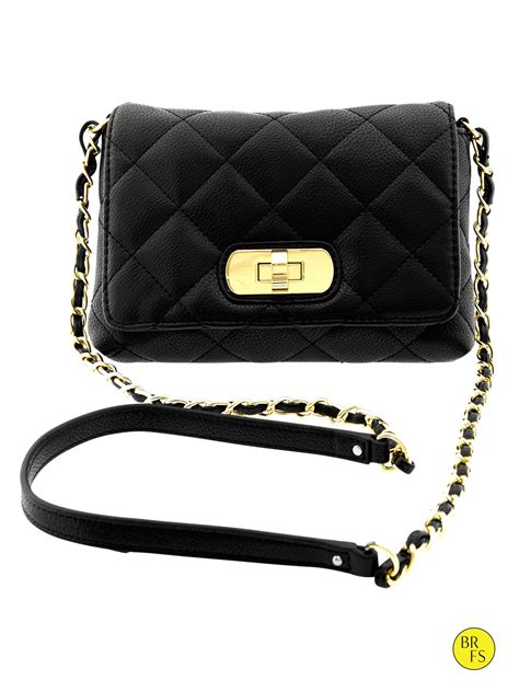 Quilted Crossbody Bags by Banana Republic Factory Quilted Crossbody Bag Black In