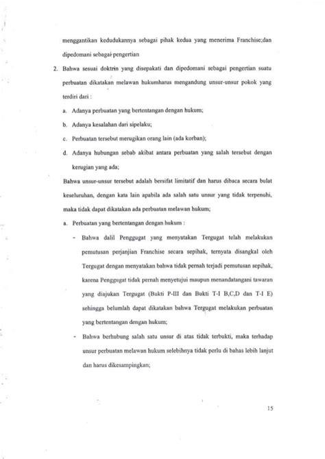 Pokok Pokok Hukum Asuransi laporan hasil penelitian putusan hakim tentang perbuatan melawan huku