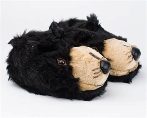 bear house shoes black bear head slippers bear slippers bear head slippers