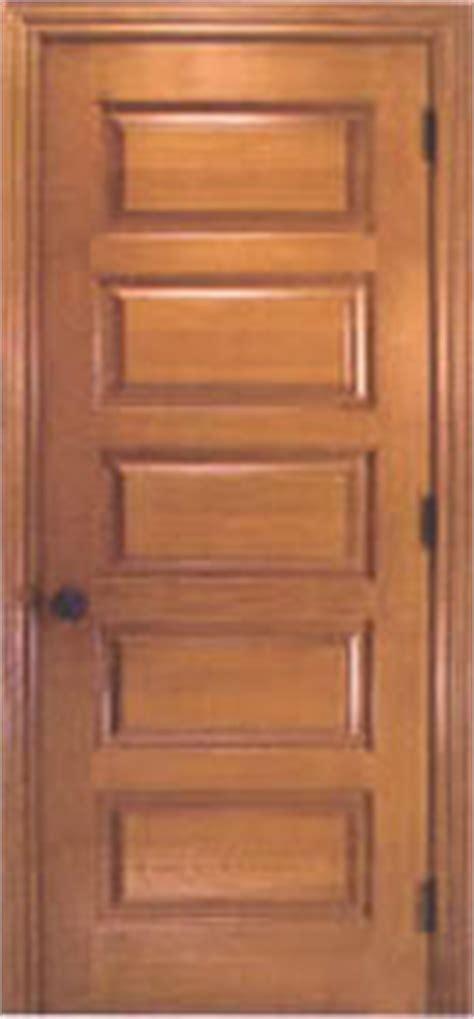 5 Panel Wood Door by Interior Doors Wood Doors Exterior Doors Homestead