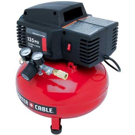porter cable product details for 3 5 gallon 135 psi pancake compressor model pcfp02003