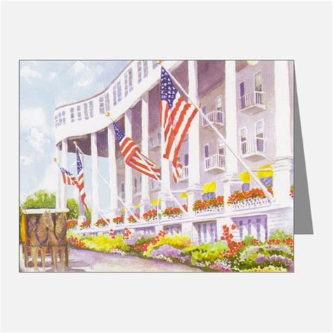 The Grand Gift Card - hotel thank you cards hotel note cards cafepress