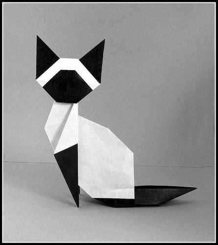 Origami Black Cat - siamese cat yamaguchi designer makoto yamaguchi