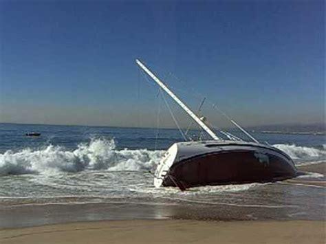 boat wrecks youtube sail boat wreck on beach youtube