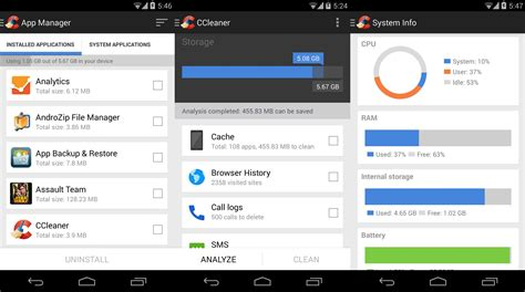 ccleaner bloatware ccleaner now also on android blog uptodown en