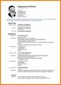 9 resume cv sample pdf job bid template